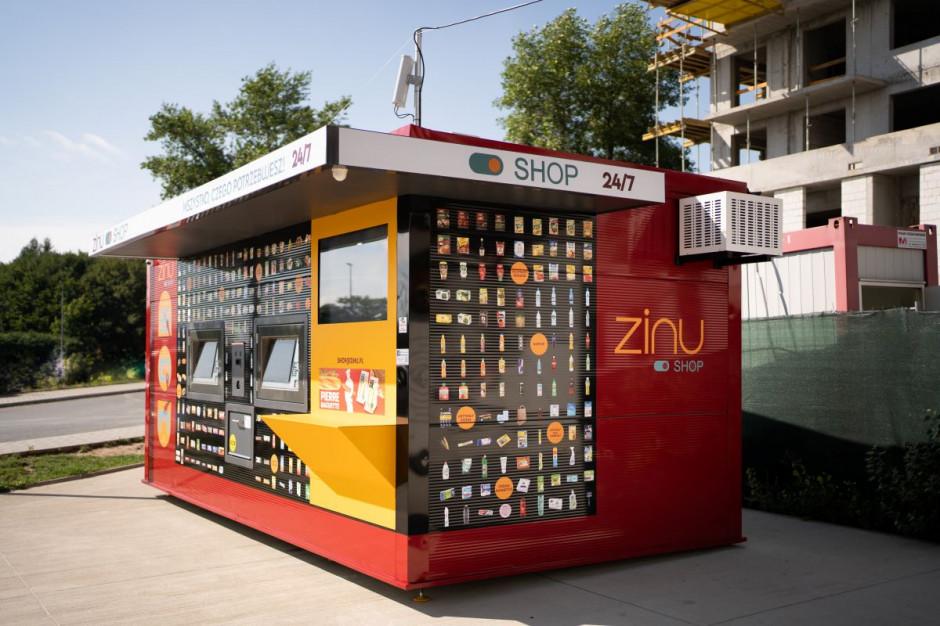 Zinu rusza z trzecim automatycznym sklepem spożywczym