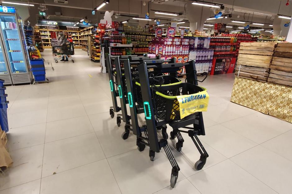 PSH Lewiatan: Inteligentne wózki w kolejnym sklepie sieci