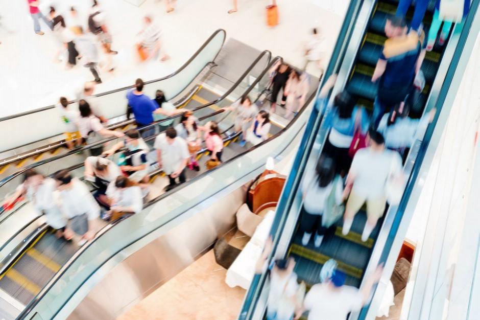 Rośnie liczba odwiedzających galerie handlowe