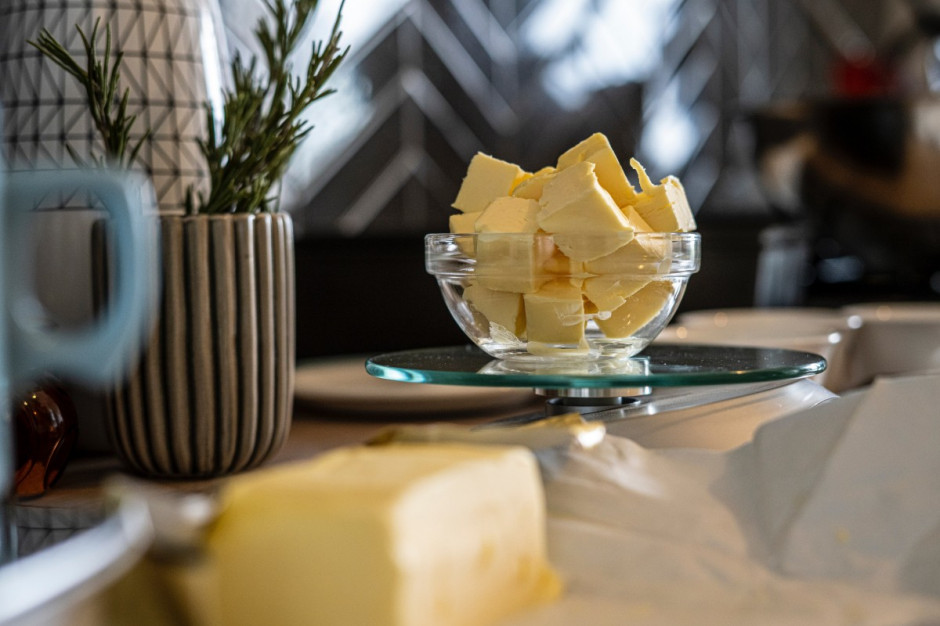 Koniec lipca przyniósł spadek cen masła
