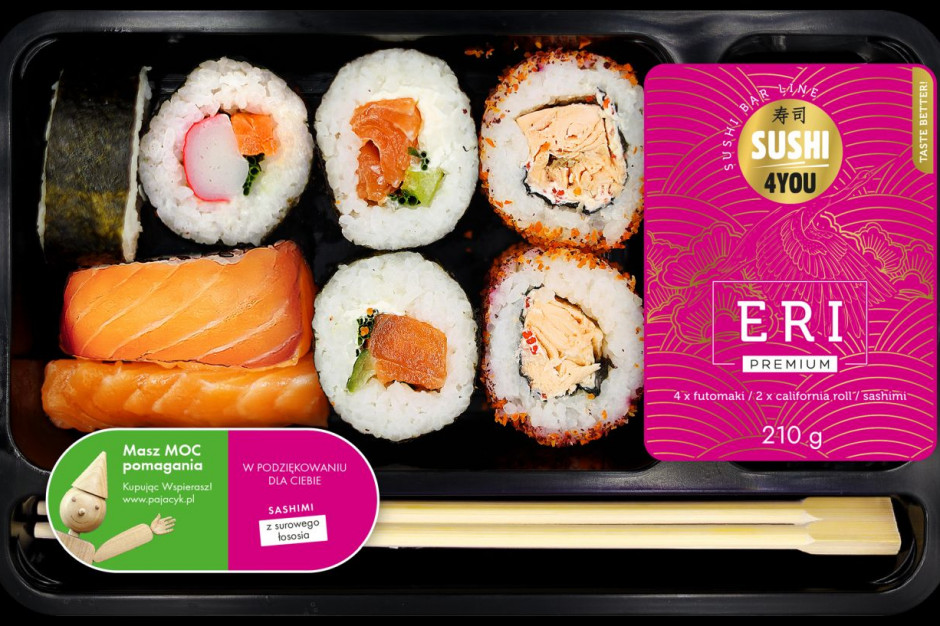 Eurocash Dystrybucja rozwija półkę dań gotowych sushi