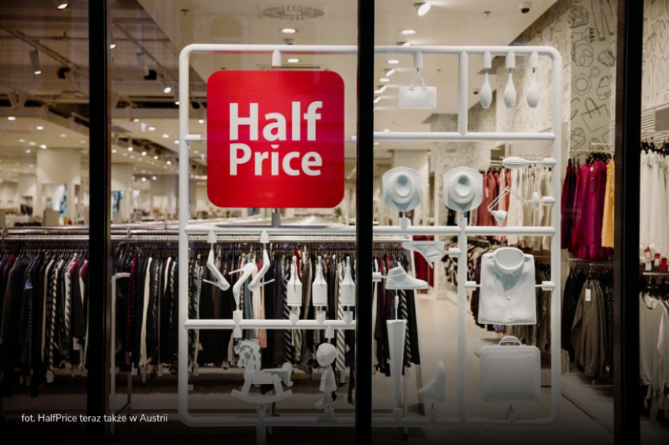 HalfPrice otworzył pierwszy sklep w Austrii