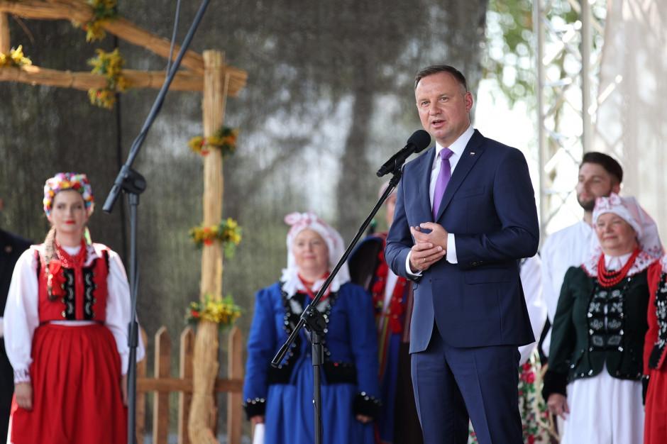 Andrzej Duda: Rolnictwo staje się coraz nowocześniejsze