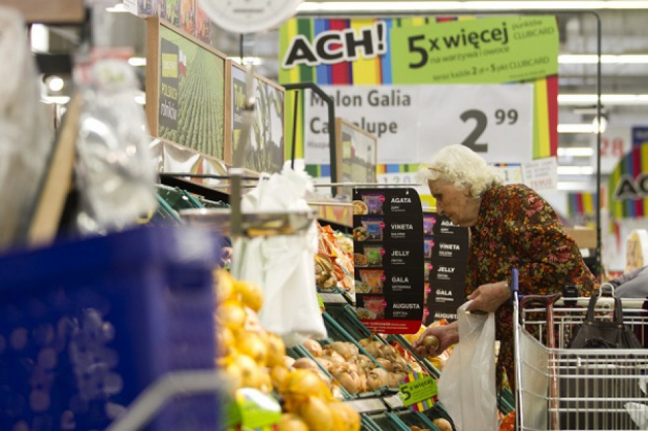 Sprzedaż supermarketów w VII wzrosła o 4,5 proc.