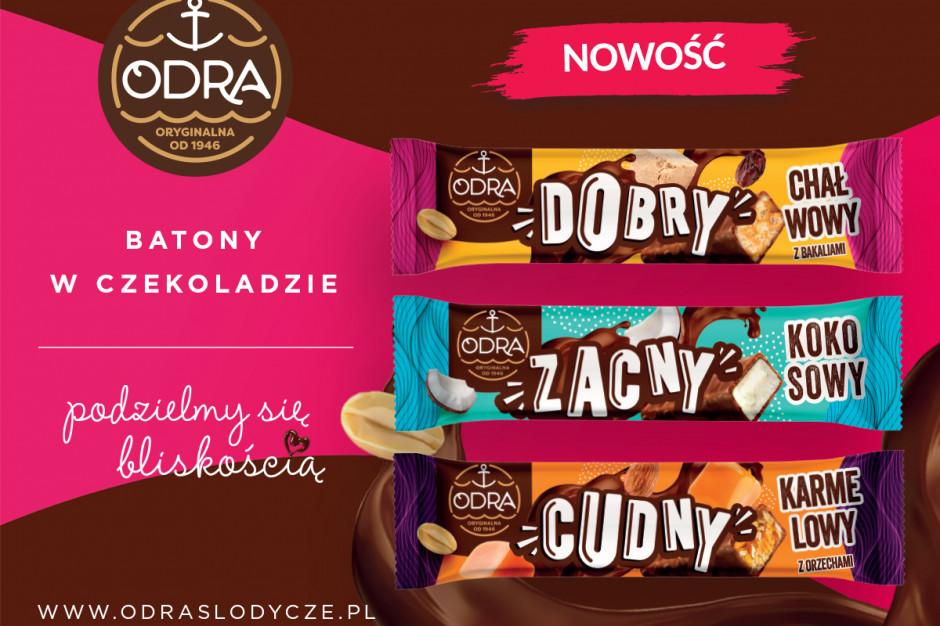 Batony w czekoladzie od Odry