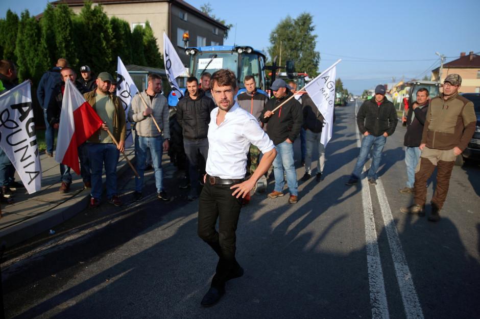 Kolejny dzień protestów rolników i blokad dróg