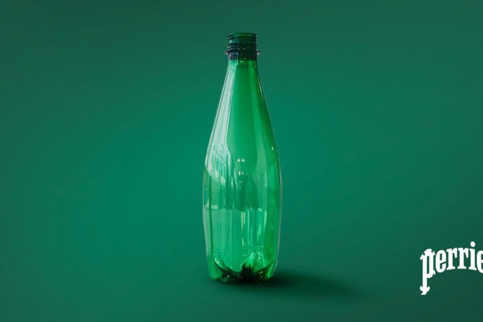 Woda Perrier w butelce PET z recyklingu enzymatycznego