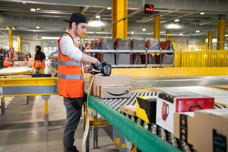 Amazon planuje zatrudnić 55 tys. osób