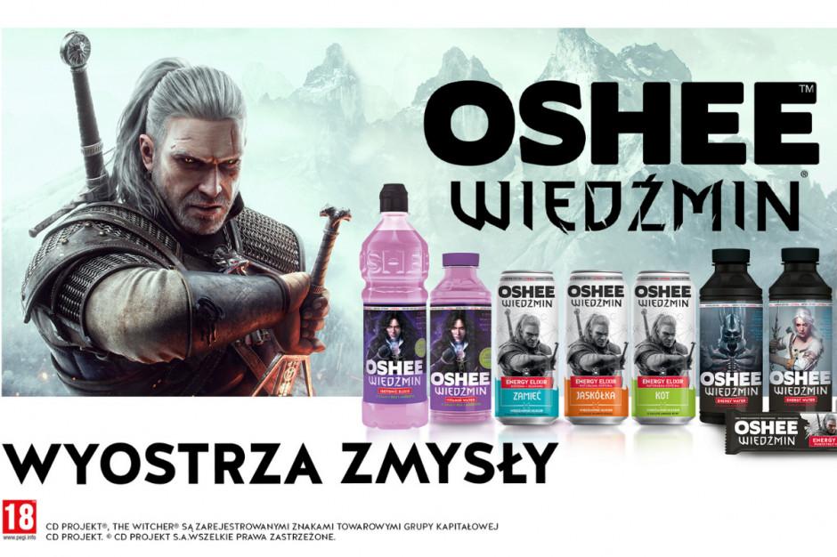 Oshee z limitowaną serię napojów sygnowanych marką Wiedźmin