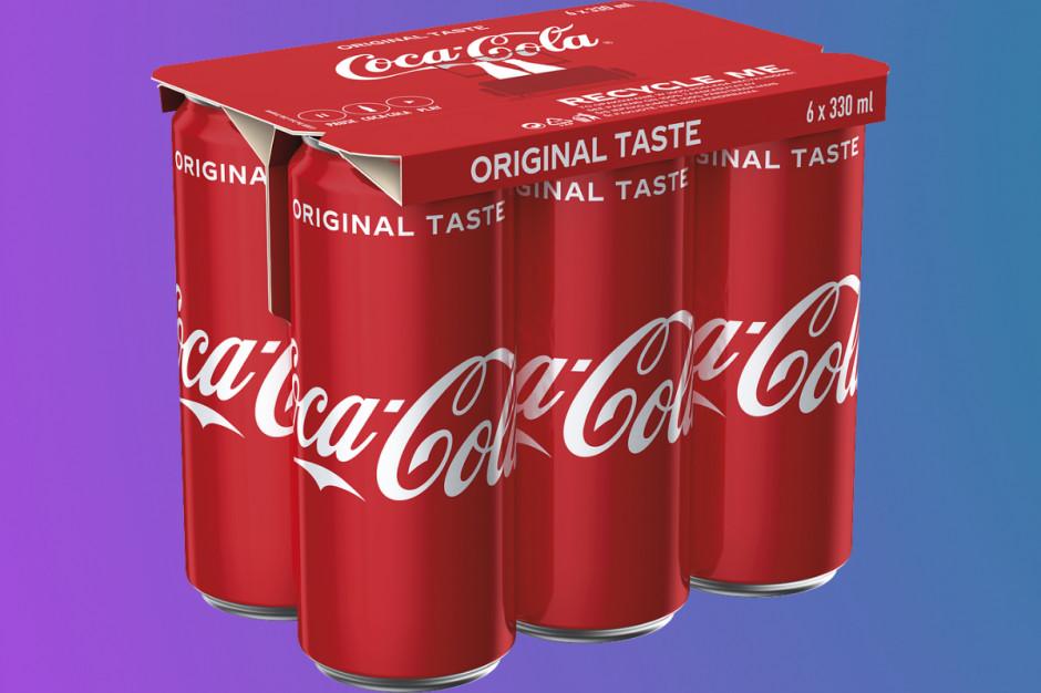 Coca-Cola: koniec z folią w wielopakach puszek