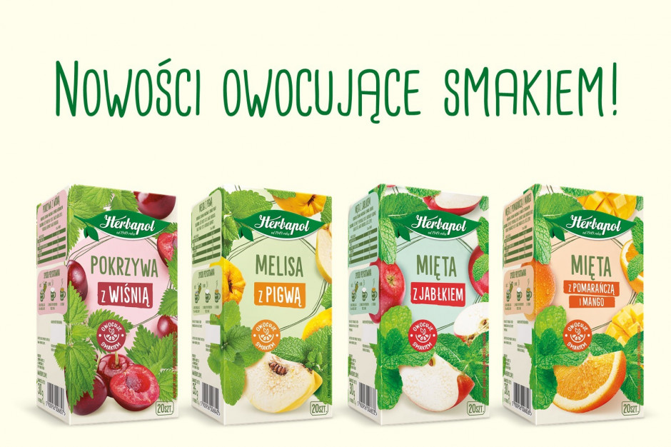 """""""Herbapol-Lublin"""" S.A. z nowymi smakami herbat ziołowo-owocowych"""
