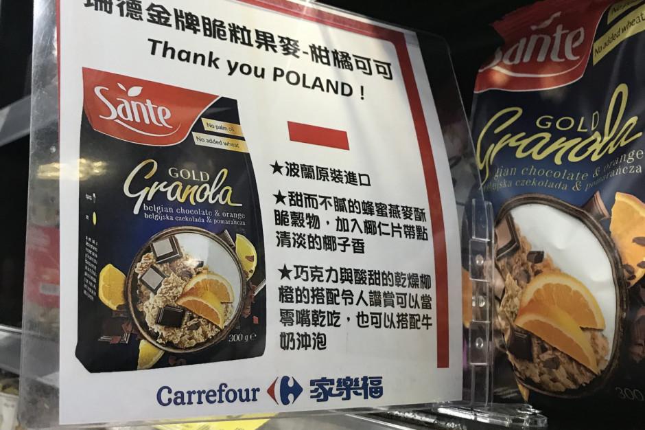Tajwan promuje polską żywność w podziękowaniu za szczepionki