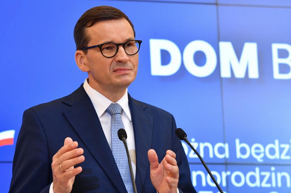 Morawiecki: Takiego wsparcia inwestycji jak za rządów PiS jeszcze nie było