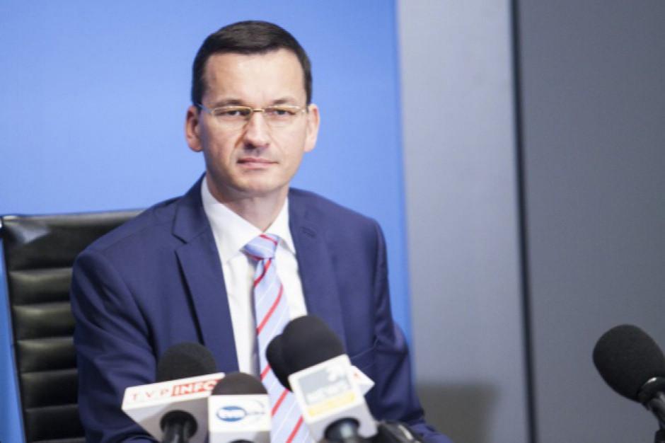 Premier Morawiecki: Polski Ład będzie przyjęty do końca listopada