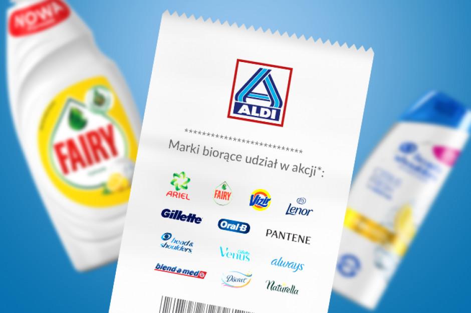"""ALDI wspólnie z P&G startuje z akcją """"Kupujesz zyskujesz"""""""