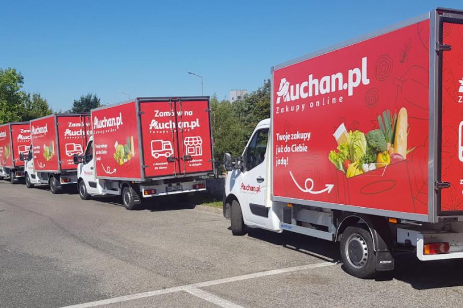 Auchan rusza ze sprzedażą internetową na Górnym Śląsku i w Krakowie