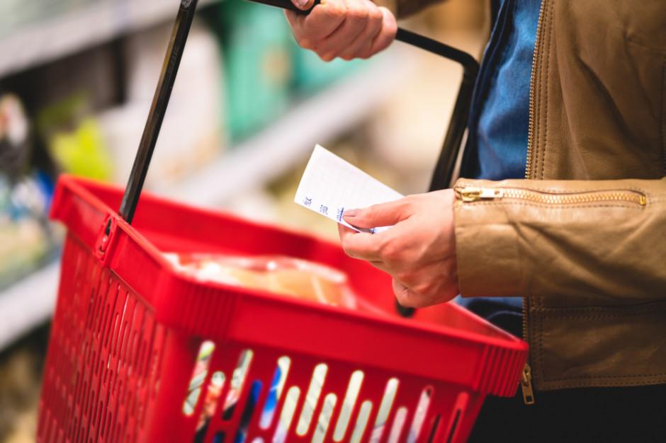 Efekt wyższych cen. Polacy kupują mniej żywności