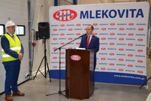 Zdjęcie numer 2 - galeria: Mlekovita otworzyła największe centrum logistyczne w mleczarstwie