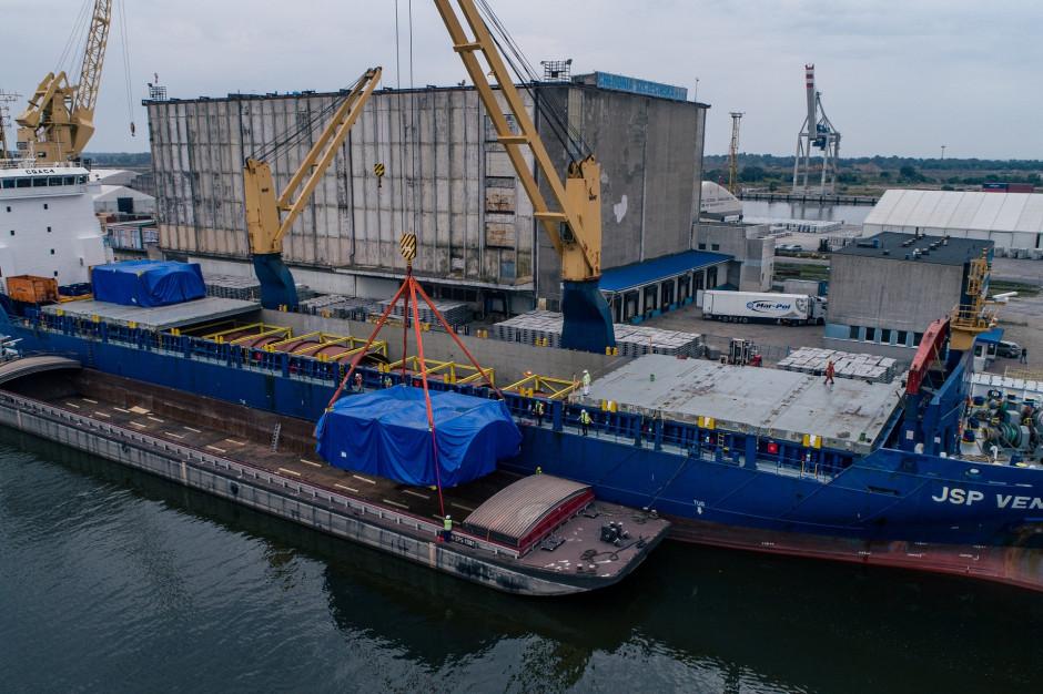 Fracht FWO rozpoczął dostawy dla jednej z największych inwestycji