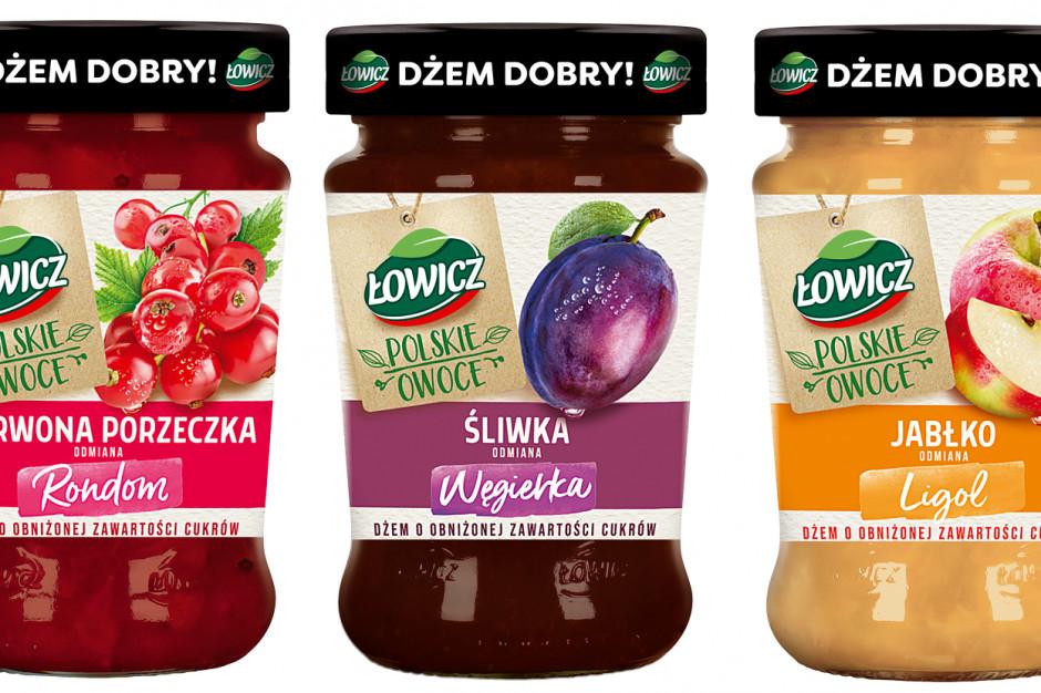 Polskie Owoce - limitowana linia dżemów Łowicz