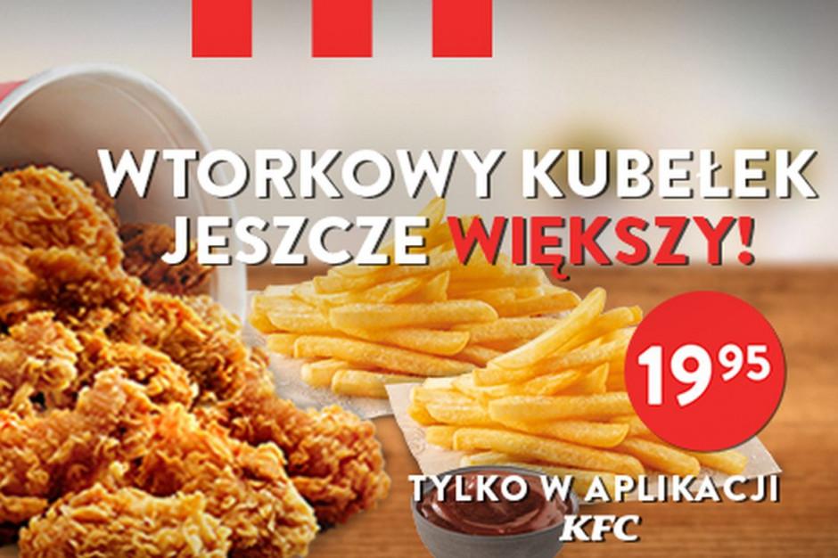 KFC: Wtorkowy Kubełek powraca
