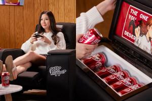 Dr Pepper stworzył fotel z wbudowaną lodówką