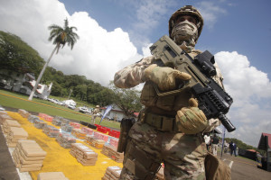 Hiszpańska policja przejęła gigantyczny transport kokainy