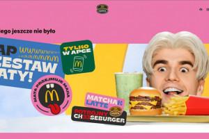 Mata w McDonald's. Zestaw rapera od dzisiaj w sprzedaży