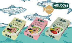 Nowość od Helcom Premium! Sałatki z tuńczykiem z wyjątkowymi dodatkami