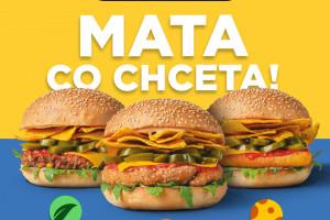 Mata w Pasibusie. Sieć nawiązuje do McDonald's