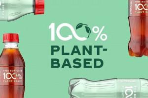Coca-Cola ma butelkę w 100 proc. z materiałów roślinnych
