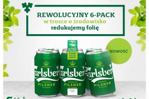 Innowacyjne sześciopaki piwa Carlsberg w sklepach Żabka